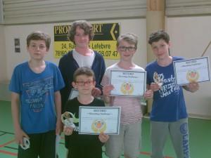 Nos Recordmans au concours de shoot