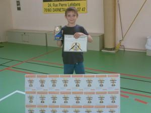 """Trophées """"Kevin Garnett"""" du joueur le plus combatif!"""
