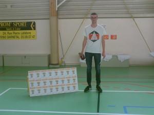 Martin Lesage (U15) élu