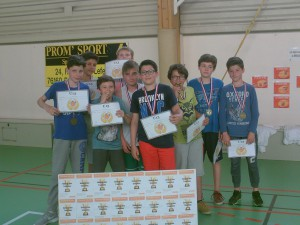 Nos U13(2) champions invaincus du District